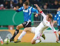 Zeitung WESTFALEN-BLATT: Arminia Bielefeld - Die Revanche – Pokal-Duell gegen Leverkusen