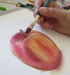 The grisaille technique for watercolors, by Sandrine Pelissier