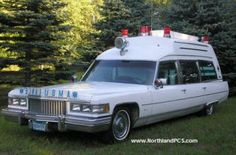 The last of the car based ambulances