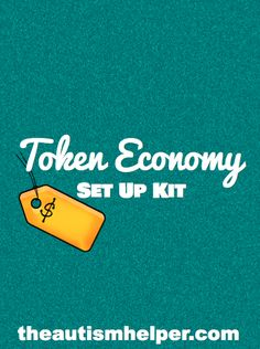 Token Economy Set Up Kit {guide you through the setup of an effective token economy; included are labels, data sheets, visual rules, guidelines, and reinforcer display} by theautismhelper.com