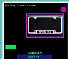 mini cooper license plate frames 154744 the best image search - Mini Cooper License Plate Frame