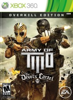 TheArmy of Two franchise has been around since 2008. Now, five years after the release of the original cooperative fist-pounding slaughterfest, the folks at Visceral Games and Electronic Arts have offered up another game for tag teams everywhere to sit down and enjoy. How does their newest franchise game, subtitledThe Devil's Cartel handle itself? Is it worth a fist bump or should it spend eternity with El Diablo? Let's find out.