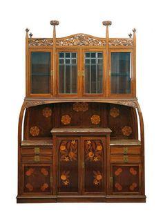 Gaspar Homar | Art Nouveau Cabinet - ca.1905.