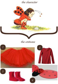 ladybug girl halloween costume - Perfect for my little girl! She loves Ladybug Girl!this year for school Book Characters Dress Up, Character Dress Up, Book Character Costumes, Ladybug Girl, Ladybug Party, Baby Girl Halloween Costumes, Girl Costumes, Costume Ideas, Halloween 2013