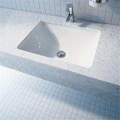Design by Philippe Starck - Starck 3 Vanity basin includes special ground for Duravit furniture and overflow Philippe Starck, Undermount Sink, Deck Drain, Semi Recessed Basin, Countertop Basin, Vanity Basin, Vessel Sink Bathroom, Family Bathroom, Toilet