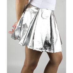 Xxx Skater Skirt ($45) ❤ liked on Polyvore
