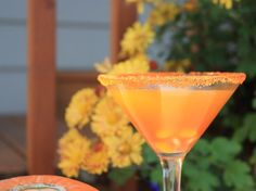 Picture of Candy Corn Martini