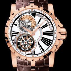 La Cote des Montres : La Cote des Montres : Prix du neuf et tarif de la montre Roger Dubuis - Excalibur - Tourbillon automatique - RDDBEX0261