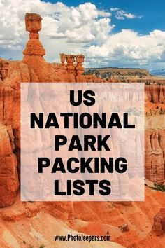 Comprehensive US National Park packing list has everything youll need for a summer or winter vacation so you can rest easy and enjoy your vacation Summer Vacation Packing, Packing List For Vacation, Vacation Trips, Packing Tips, Vacation Travel, Beach Travel, Travel Packing, Suitcase Packing, Usa Travel