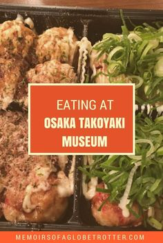 Osaka Takoyaki Museum is a food court where you can try Osaka's most famous dish, takoyaki! This delicious snack is made of octopus, green onions and batter. It's a must-try food in Japan!