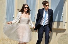 Keira Knighley and James Righton were married on May 4, 2013, in  Provence, France.