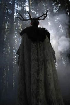 I am he who abides in the deepest darkest woods. It is my place to be with the creatures of the forest running in the cloak of blackest night. With bow strung across my back I make my home with the Earth. I am the defender of the sacredness of nature. I am the Great God. --from The Charge of the God: http://www.patheos.com/blogs/panmankey/2013/08/the-charge-of-the-god/#disqus_thread