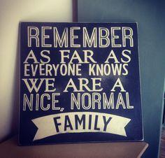 Family Plaque $49