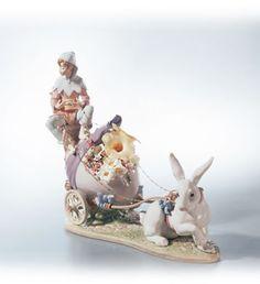 Lladro-  Easter Fantasy