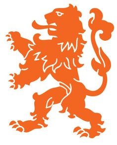 """De Oranje Leeuw"" Widely regarded as the national symbol across the world."