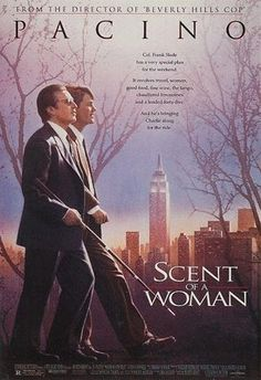 Scent of a woman - another Thanksgiving tradition. Pacino is magnificent. So many fantastic scenes (and lines), but the tango and Ferrari scenes are my favorites. (And beady-eyed West Wing fans will spy a young Josh Lyman in this film!)