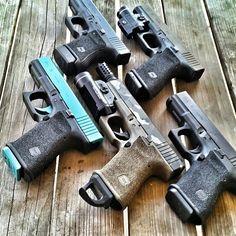 Glock.... I like the breaker on the middle Glock