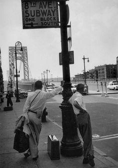 George Washington Bridge New York 1955 Photo: Erich Hartmann
