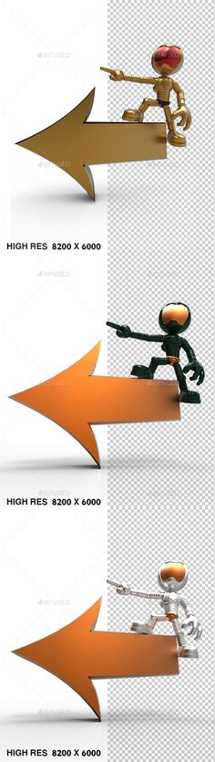 3D Gold Astronaut Tell Left Direction by rophaaa 3D Astronaut Tell Left Direction Arrow 2 files included, jpg with white background, png transparent with shadow 8000px X 6000px pr
