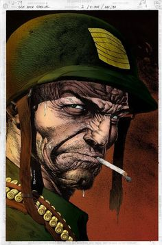 Sgt. Rock by Brian Bolland