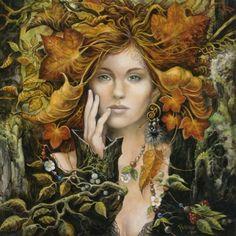 «Fée d'automne», par Séverine Pineaux.