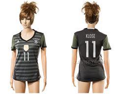 http://www.xjersey.com/germany-11-klose-away-women-euro-2016-soccer-jersey.html GERMANY 11 KLOSE AWAY WOMEN EURO 2016 SOCCER JERSEY Only $35.00 , Free Shipping!