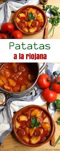 Patatas a la Riojana, Potatoes a la Riojana