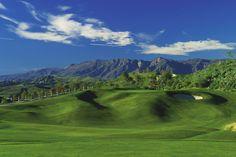 2nd hole at Tierra Rejada Golf Club  186 yard par 3