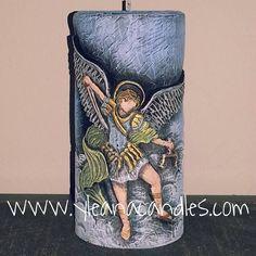 Velas Religiosas Energy Drinks, Barbie, Pasta, Saints, Butterflies, Hand Embroidery, Carved Candles, Incense, Noodles