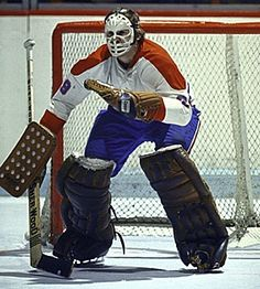Ken Dryden, early in career with Montreal Canadiens. Hockey Goalie, Hockey Teams, Hockey Players, Montreal Canadiens, Nhl, Patrick Roy, Ken Dryden, Goalie Mask, Vancouver Canucks
