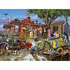 Shop Bits and Pieces jigsaw puzzle store for kids and adults! Piece together the puzzle to solve the mystery 1000 piece mystery jigsaw puzzle designed and written by artist Gene Dieckhoner measures 20 x Jigsaw Puzzle Store, 1000 Piece Jigsaw Puzzles, Cartoon Art Styles, Mystery, Deserts, Death, Retro, Wallpaper, Artist