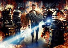 Doctor Who: The Assylum of the Daleks Computer PC Wallpaper. LOVE!!<3!!