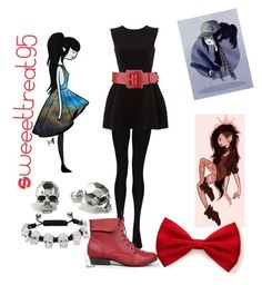 Marceline modern outfits by sweeettreat95 on Polyvore featuring polyvore fashion style Boohoo Breckelle's Kasun Eternally Haute Forever 21 Neiman Marcus modern clothing