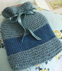 Ravelry: Hot-Water Bottle Cover pattern by Claire Montgomerie