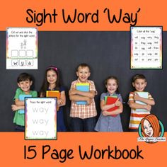 Sight Word 'Out' 15 Page Workbook English Lesson Plans, English Lessons, Teacher Pay Teachers, Teacher Resources, Learning Objectives, Handwriting Practice, Word Out, Sight Words, Teacher Newsletter