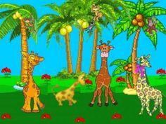 Canción Infantil La jirafa resfriada.