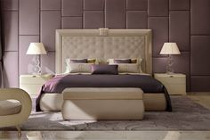 Stardust Bedroom www.it Italian luxury bedroom furniture Luxury Bedroom Furniture, Contemporary Bedroom Furniture, Luxury Dining Room, Residential Interior Design, Interior Design Companies, Cheap Furniture, Furniture Design, Italian Furniture Brands, Living Room Designs