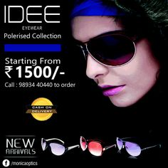 Sunglasses that unveil all about your dashing looks is exclusive  Idee sunglasses. Shop Now at Monica Optic's  #Idee #IdeeSunglasses #Sunglasses #Shop #Shopping #Offer #Festive #FestiveOffer #Diwali #Bonanza #Discount