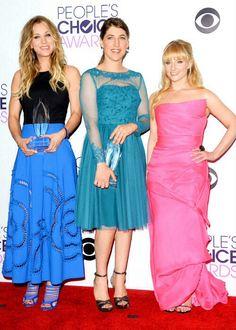 The girls of The Big Bang theory
