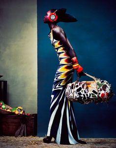 "Alek Wek Through The Lenses Of Andrew Yee - African Designers  Models - Funk Gumbo Radio: http://www.live365.com/stations/sirhobson and ""Like"" us at: https://www.facebook.com/FUNKGUMBORADIO"
