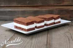No Bake Cake, Tiramisu, Food And Drink, Sweets, Cookies, Baking, Ethnic Recipes, Frostings, Crack Crackers
