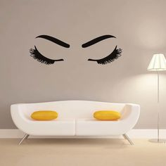 Beautiful Girl'S Eyelash And Eyebrow Make Up Beauty Salon Barbershop Wall Sticker Window Diy Fashionable Home Decor Living Room. Category: Home & Garden. Subcategory: Home Decor. Hair And Beauty Salon, Beauty Makeup, Wall Stickers Window, Postnatal Workout, Diabetic Dog, Healthy Shopping, Long Lashes, Dog Snacks, Eyebrow Makeup