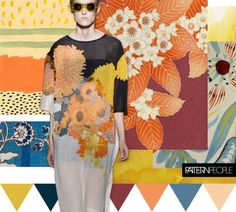 TRENDS // PATTERN PEOPLE - PRINT + COLOR . SS 2017 | FASHION VIGNETTE | Bloglovin'
