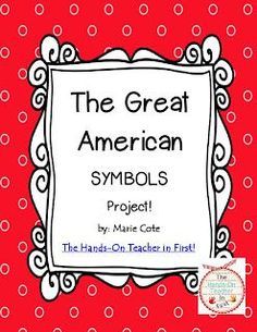 A fun and FREE project idea for American Symbols! Social Studies For Kids, Kindergarten Social Studies, Kindergarten Projects, Social Studies Classroom, Teaching Social Studies, Teaching History, Classroom Themes, Classroom Teacher, Teaching Kindergarten