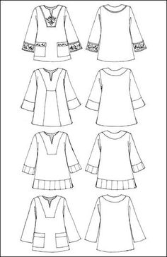 Tribeca Tunic clothing sewing pattern by Indygo Junction