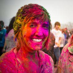 Holi fest 2011 by obviologist on DeviantArt Holi Festival India, Holi Festival Of Colours, Holi Colors, Hindu Festivals, Spring Festival, Old Art, Color Splash, Dreadlocks, Culture