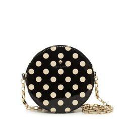 dots on dot. - Normandy park dot bag by kate spade Sac Kate Spade, Purse Wallet, Coin Purse, Purse Crossbody, Fashion Bags, Fashion Accessories, Womens Fashion, Style Fashion, Purses And Bags