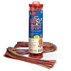 Kids' Bendable Sculpting Sticks - Super Wikki Stix -- You can find out more details at the link of the image.