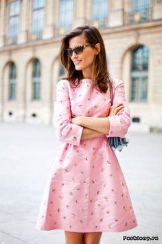 Такое спорное и такое милое розовое платье