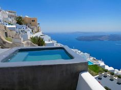 View of Grace Santorini from Sophia Suites.